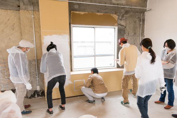 ひらばDIY漆喰塗り体験-34