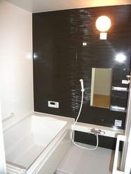 お洒落な浴室