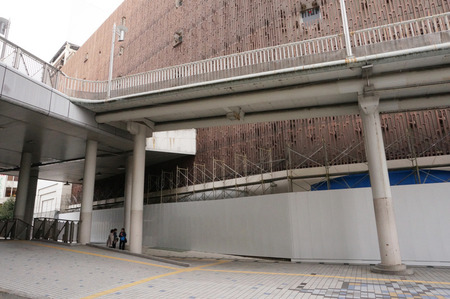 近鉄百貨店枚方店解体131208-20