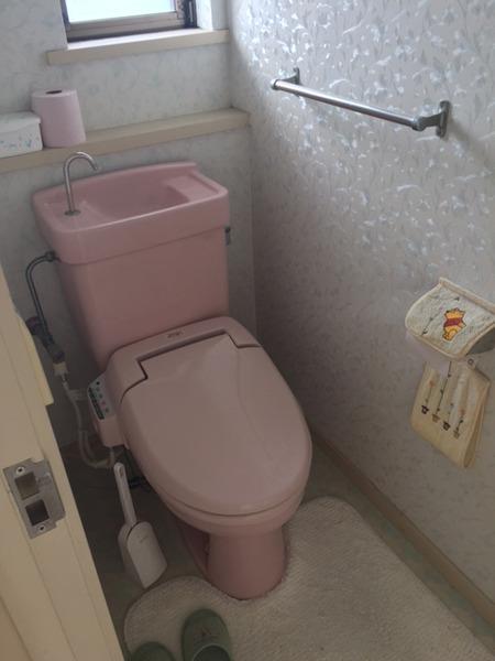 トイレBefore