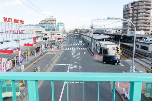 御殿山歩道橋-1412036