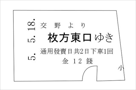 信貴生駒電鉄切符02