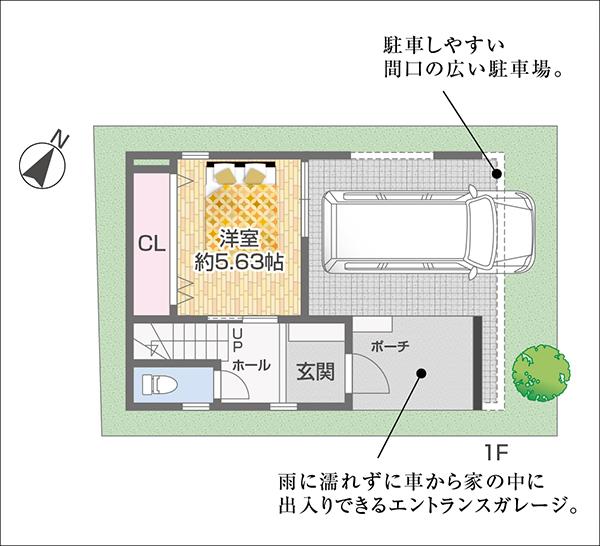 川原町間取り2号地_1F