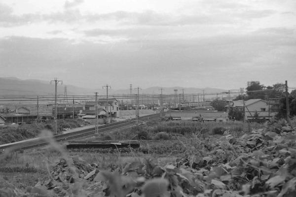 1969年の牧野付近の写真