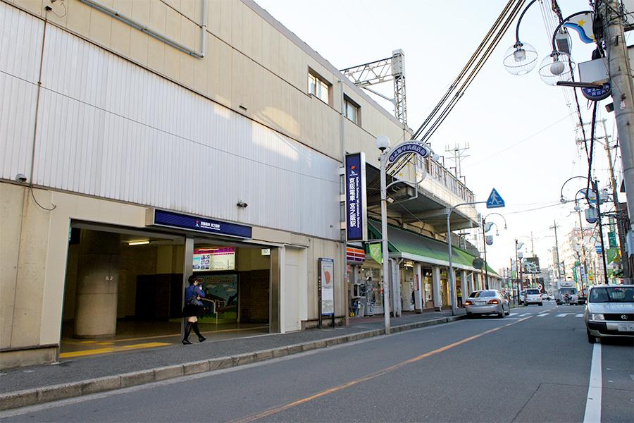 宮之阪駅2011