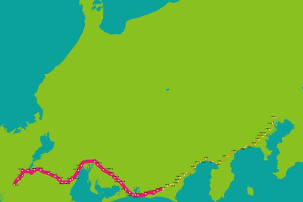 東海道マップ