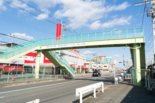 御殿山歩道橋-1412031