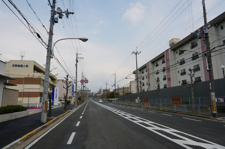 関西電力楠葉社宅130411-03