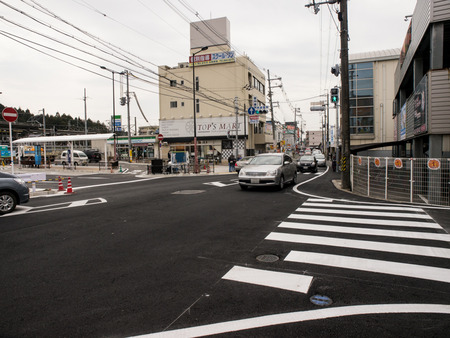 長尾駅前道路-1403254