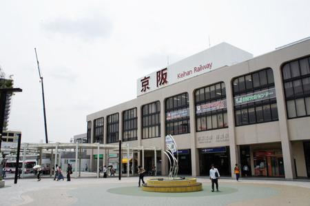 樟葉駅120604