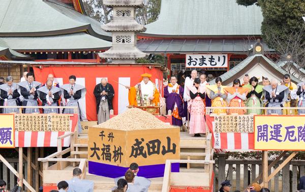 成田山不動尊 節分祭-24