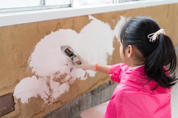 ひらばDIY漆喰塗り体験-42