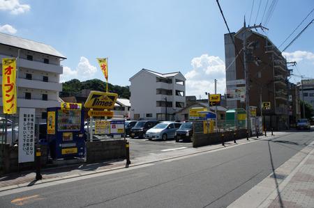 ビオルネ裏駐車場20120817134816