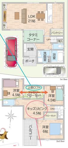 23号地間取り図