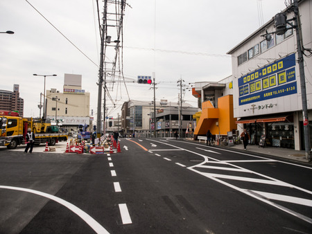 長尾駅前道路-1403251
