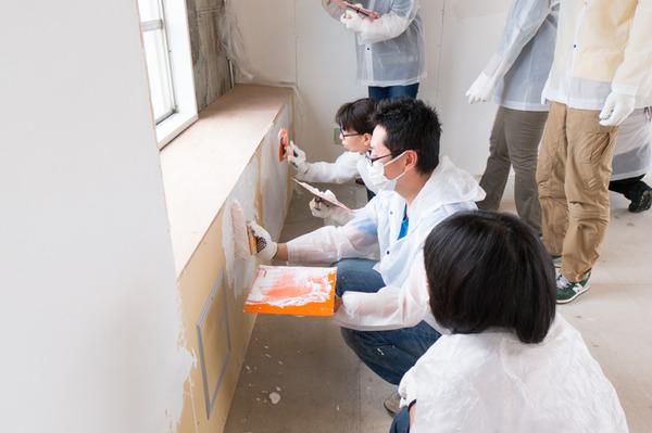 ひらばDIY漆喰塗り体験-41