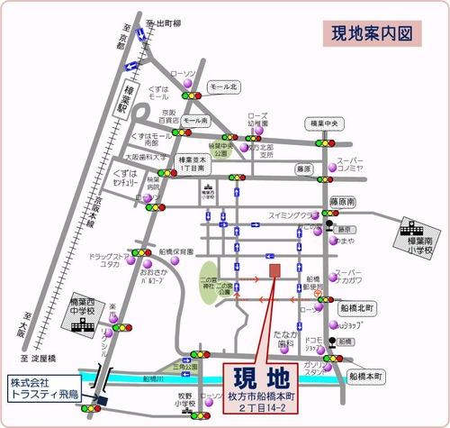 船橋本町 原本 地図