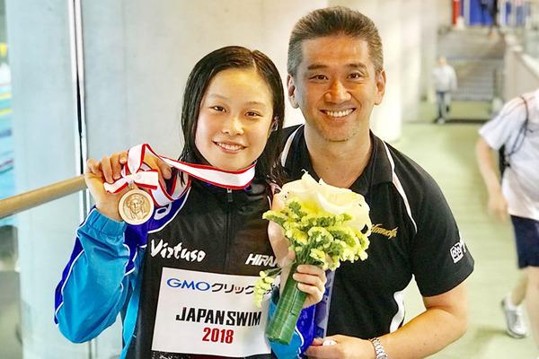 中村選手と太田コーチ