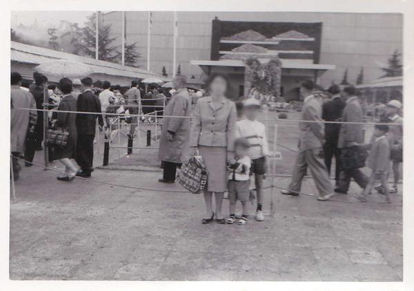 昭和35年菊人形