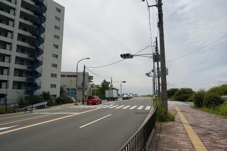 府道13号「三矢」交差点130826-01