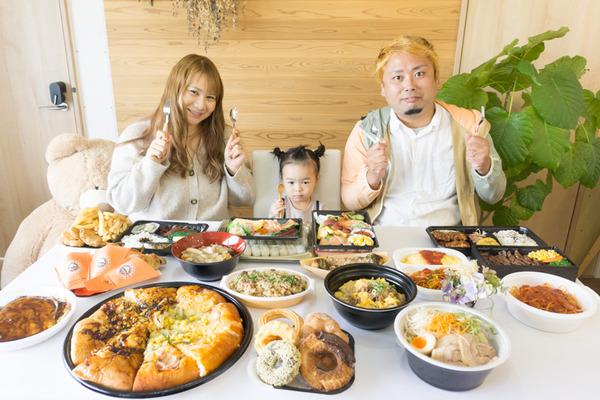 ニトリテイクアウト食事-20100611
