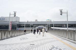 枚方市駅歩道橋