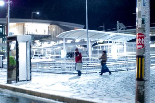 雪の正月-3