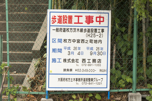 百済王神社の桜-14