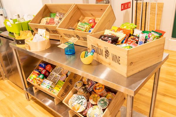 大阪・枚方市のコワーキングスペース ビィーゴの販売フード