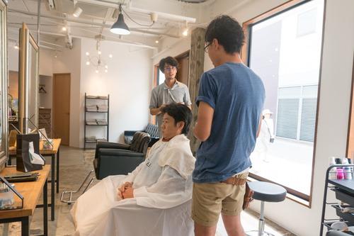 ダイケン寝屋川美容室上野社長ビフォー-2