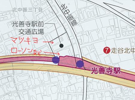 光善寺駅ロータリー04