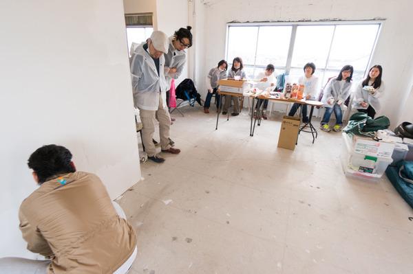 ひらばDIY漆喰塗り体験-56