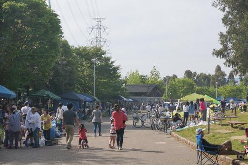 山田池公園バーベキュー-3