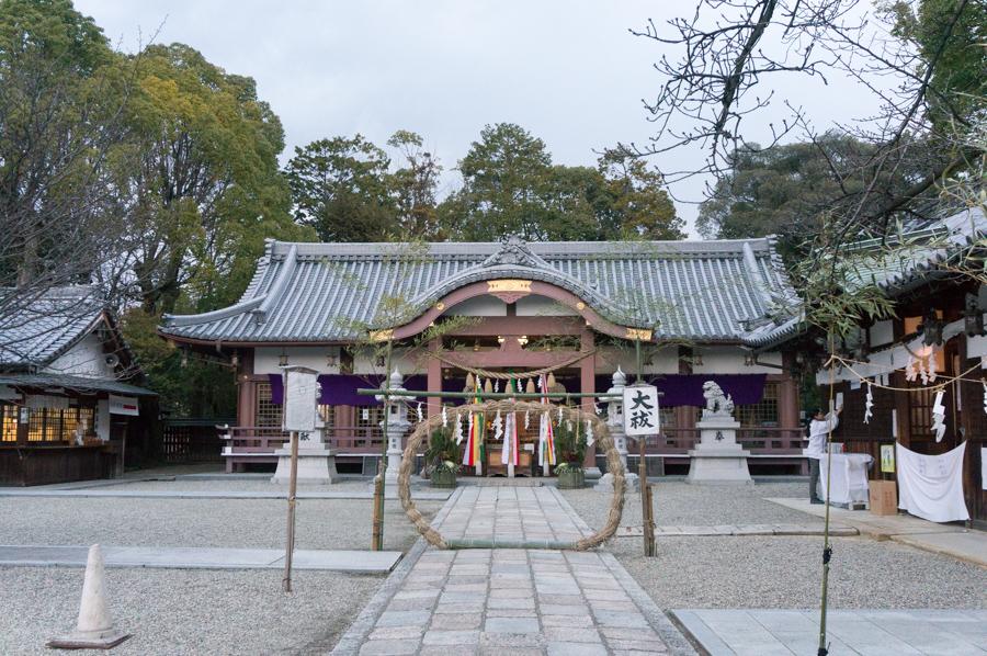 百済王神社-1