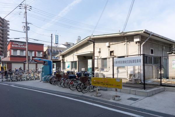 光善寺駅周辺駐輪-16111716