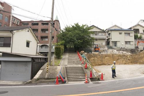 百済王神社の桜-9