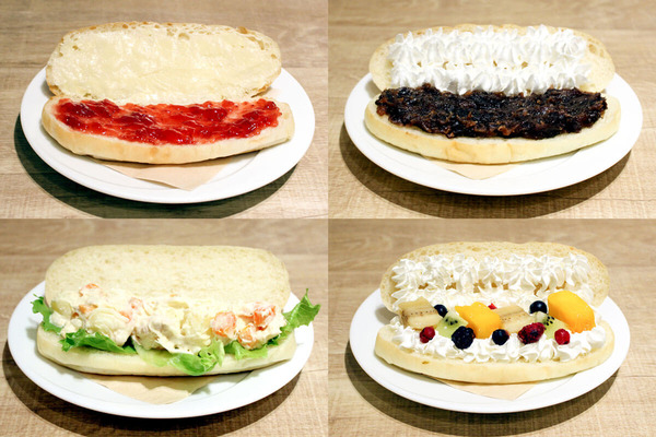 大阪・枚方市のコワーキングスペース ビィーゴのデリバリーできるコッペパン