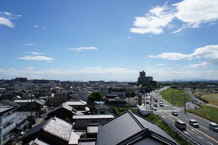 鍵屋別館から大阪方面20120804143246