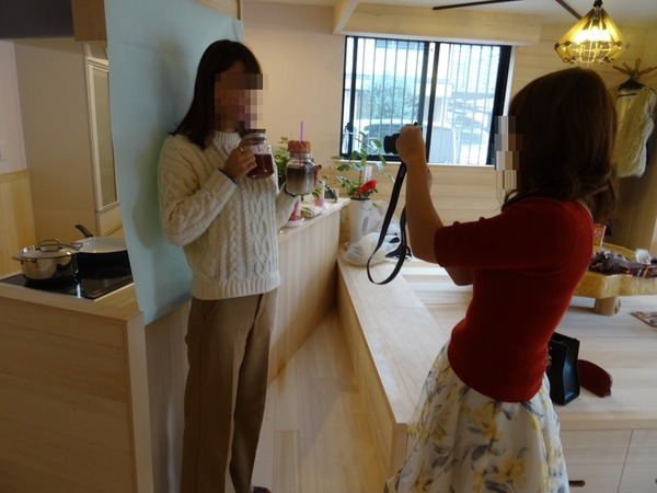 自作料理の撮影会