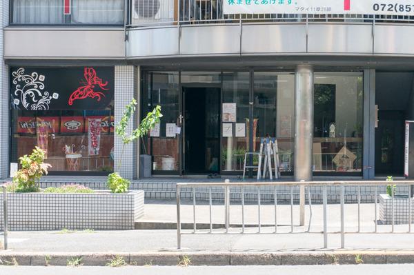 20170726晴れる家喫茶外観-1