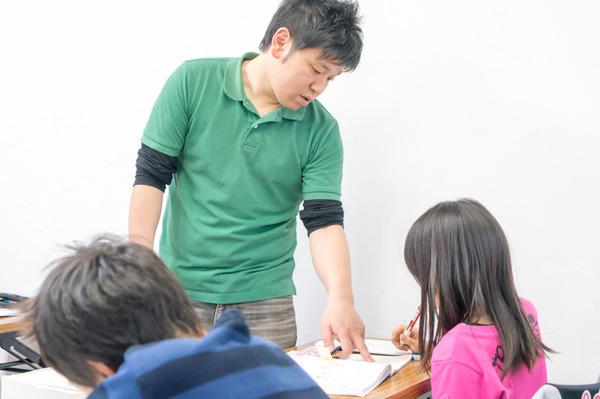 個別指導のレッツ授業風景