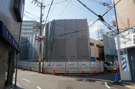 京阪ザ・ストア牧野店解体131105-01