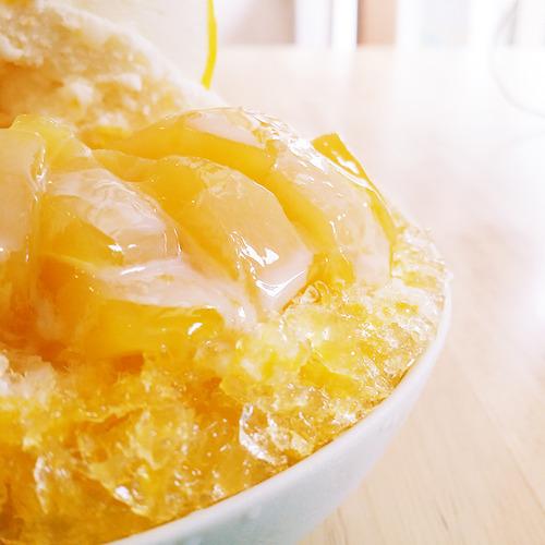 カミュゥかき氷1