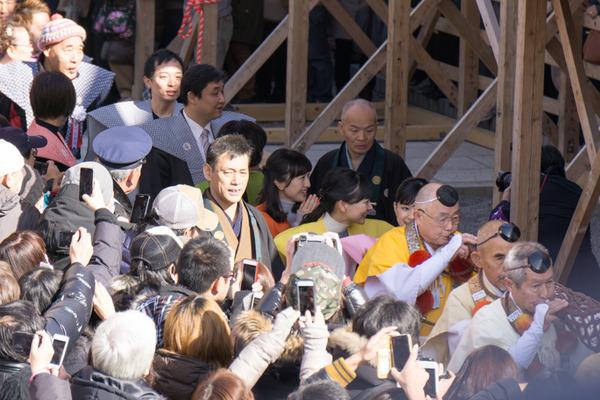 成田山不動尊 節分祭-13