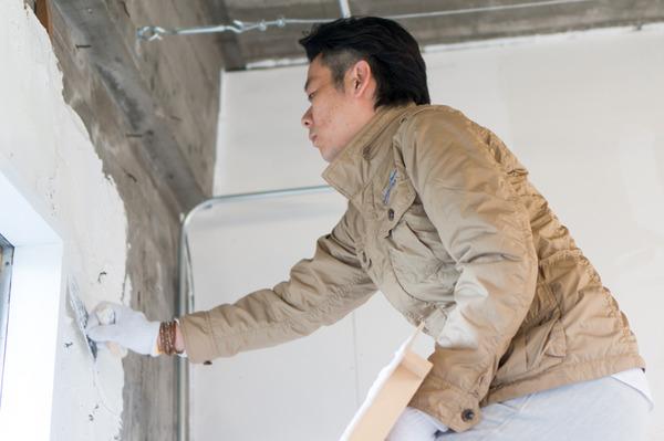 ひらばDIY漆喰塗り体験-59