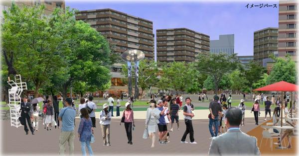 枚方市駅周辺イメージパース-4