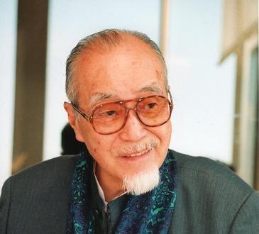 森繁久彌さん写真(枚方市広報1)