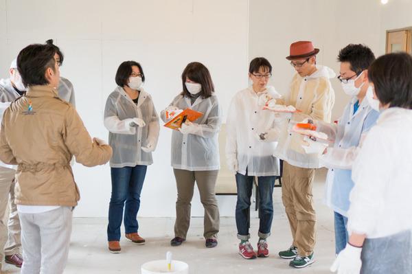 ひらばDIY漆喰塗り体験-29