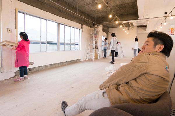 ひらばDIY漆喰塗り体験-62