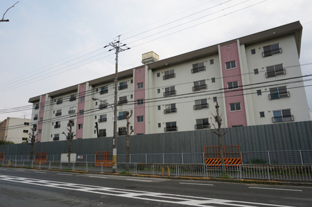 関西電力楠葉社宅130411-05